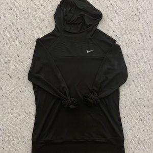 EUC Nike Running Hooded Top